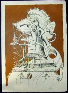 Salvador Dali Les Songs Drolatiques de Pantagruel