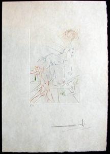 Salvador Dali - Femmes et Chevaux - La Parade