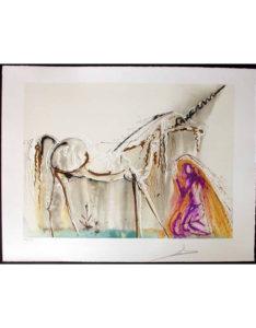 Salvador Dali - Dalinean Horses - La Licorn