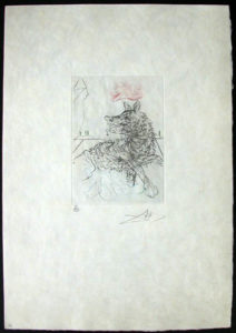 Salvador Dali - Shakespeare II - Richard III