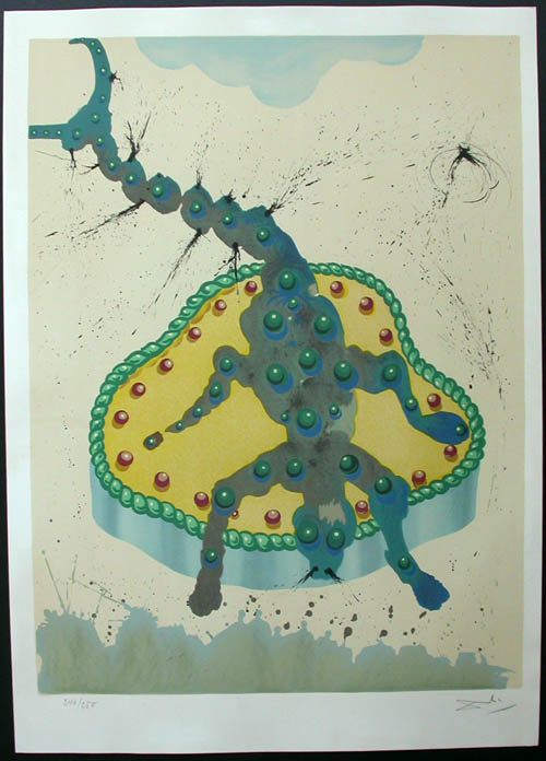 Salvador Dali - Twelve Signs of the Zodiac - Scorpio