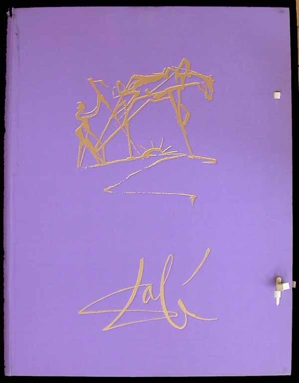 Salvador Dali - Dalinean Horses - Portfolio Case