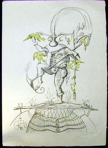 Salvador Dali - Les Songs (Songes) Drolatiques de Pantagruel - T