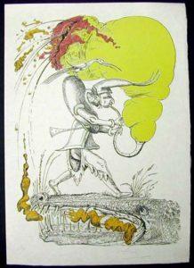 Salvador Dali - Les Songs (Songes) Drolatiques de Pantagruel - V