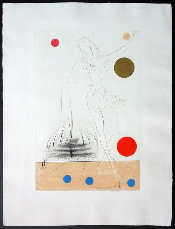 Salvador Dali - Visions of Chicago - Buckingham Fountain