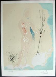 Salvador Dali - Twelve Signs of the Zodiac - Virgo