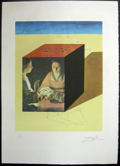 Salvador Dali - Memories of Surrealism Individual Photoliths - Caring for a Surrealist Watch