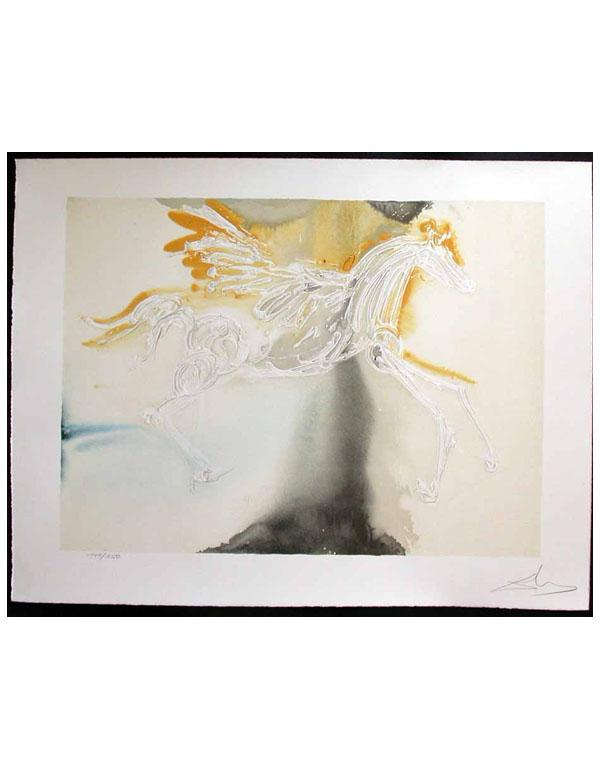 Salvador Dali - Dalinean Horses - Pegasus