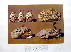 Salvador Dali - Les Diners de Gala - Princely Plier Caprices