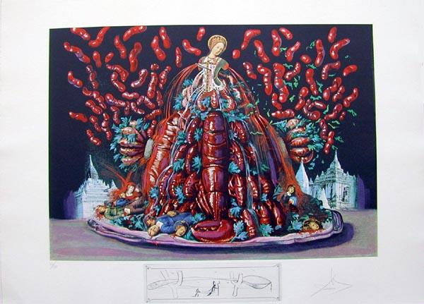 Salvador Dali - Les Diners de Gala - Autumn Cannibalisms