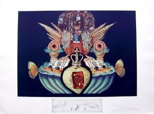 Salvador Dali - Les Diners de Gala - Monarchial Flesh Tones