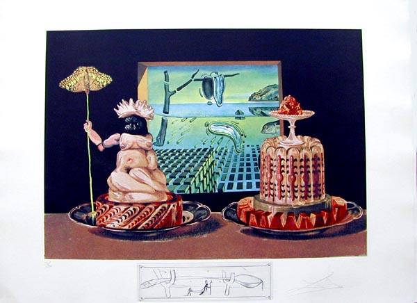 Salvador Dali - Les Diners de Gala - The 'I Eat Gala's'