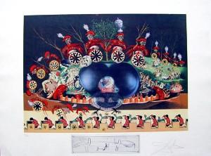 Salvador Dali - Les Diners de Gala - Atavism