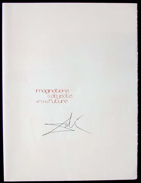 Salvador Dali - Dalinean Prophecy - Cover Page