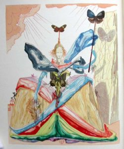 Salvador Dali - Le Tricorne - Etching #1