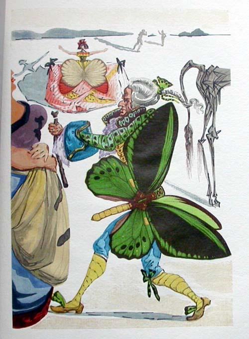 Salvador Dali - Le Tricorne - Etching #10