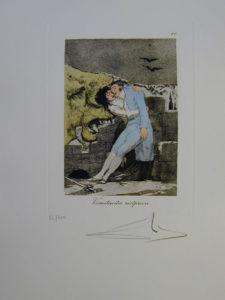 Salvador Dali - Les Caprices de Goya - 10.jpg