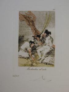 Salvador Dali - Les Caprices de Goya - 11.jpg
