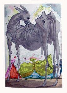 Salvador Dali - Le Tricorne - Etching #12