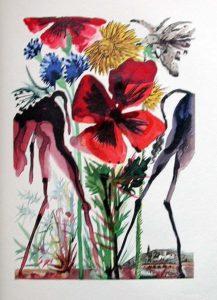Salvador Dali - Le Tricorne - Etching #13