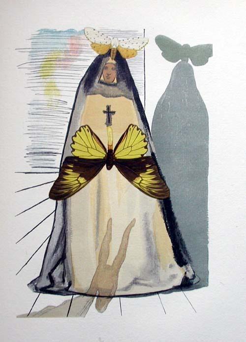 Salvador Dali - Le Tricorne - Etching #17