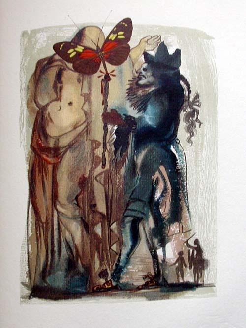 Salvador Dali - Le Tricorne - Etching #18