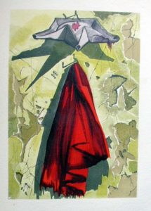 Salvador Dali - Le Tricorne - Etching #20