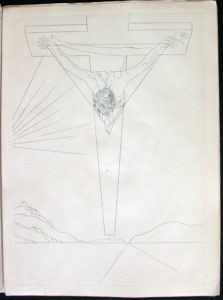 Salvador Dali - Manifests Mystique - Christ