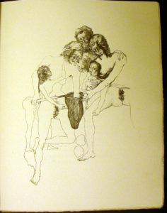 Salvador Dali - La Femme Visible - Plate 4