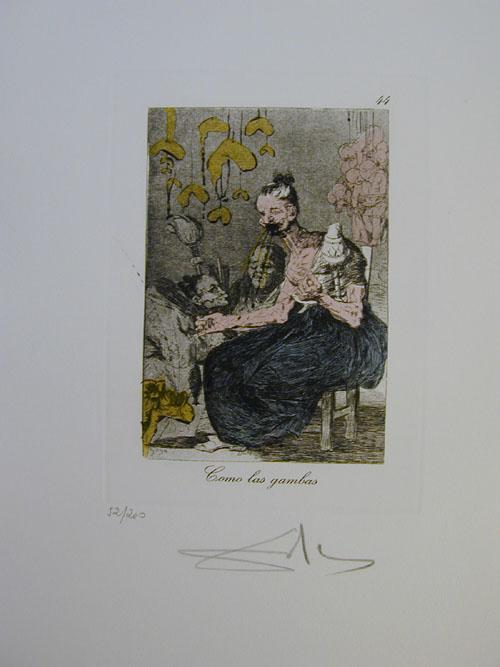 Salvador Dali - Les Caprices de Goya - 44.jpg