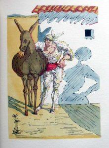 Salvador Dali - Le Tricorne - Etching #5