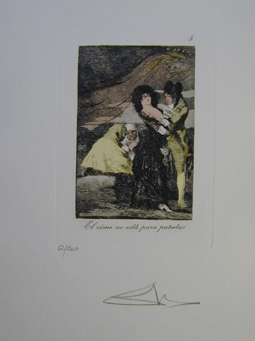 Salvador Dali - Les Caprices de Goya - 5.jpg