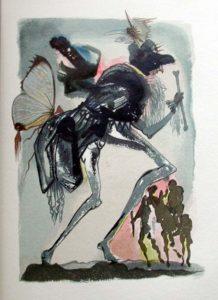 Salvador Dali - Le Tricorne - Etching #7
