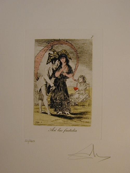 Salvador Dali - Les Caprices de Goya - 7.jpg  2