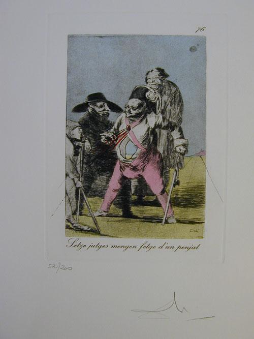 Salvador Dali - Les Caprices de Goya - 76.jpg