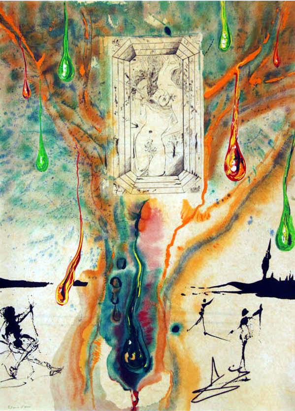 Salvador Dali - Alchimie des Philosophes - The Emerald Table