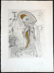 Salvador Dali - The Mythology - Athena