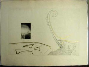 Salvador Dali - Dix Recettes d'Immortalite - Epitaphe d'immortalite