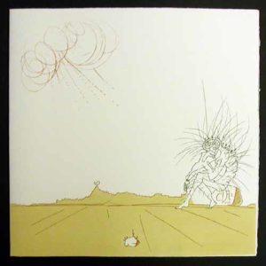 Salvador Dali - Neuf Paysages - Meditation