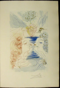 Salvador Dali - Song of Songs of Solomon - The Kiss