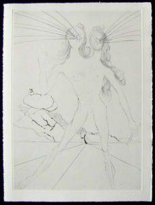 Salvador Dali - Les Amours de Cassandre - Bicephaleage