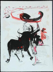 Salvador Dali - Tauromachie (Bullfight I) - II