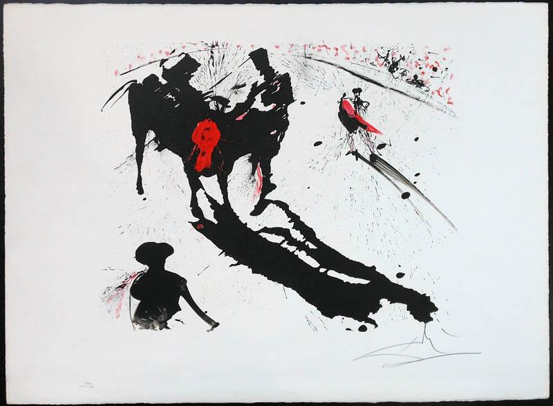 Salvador Dali - Tauromachie (Bullfight I) - IV