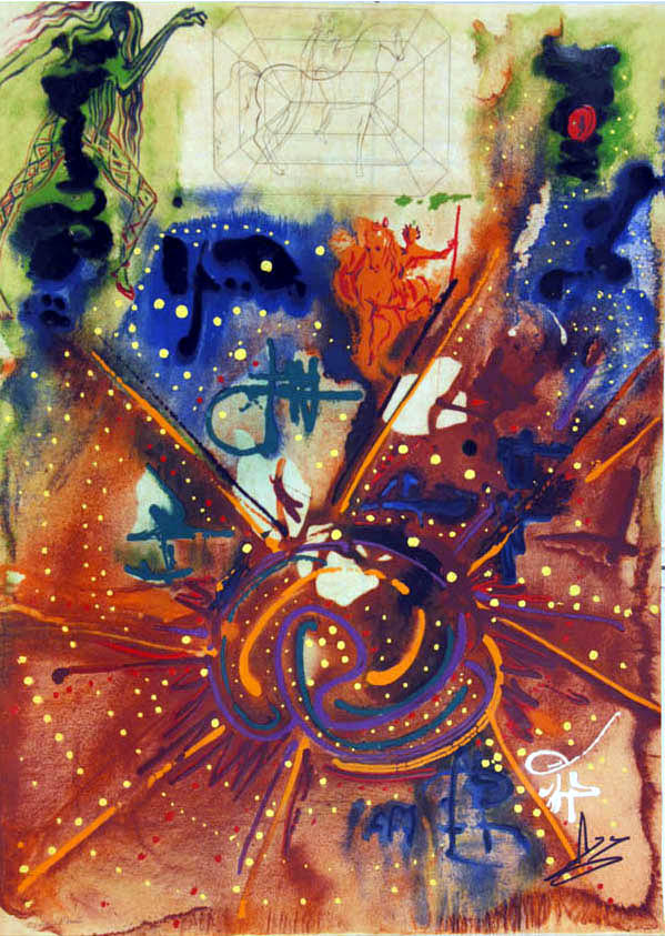 Salvador Dali - Alchimie des Philosophes - Yin and Yan