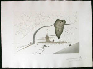 Salvador Dali - Aurelia - Memorabilia