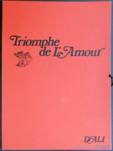 Salvador Dali - Triomphe de l'Amour (Triumph of Love) - Case