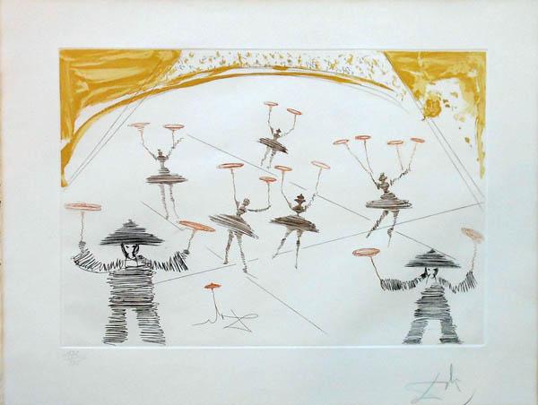 Salvador Dali - Le Cirque - Chinois