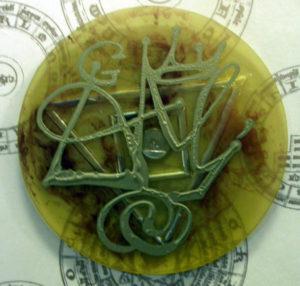 Salvador Dali - Alchimie des Philosophes - Mercury Dial