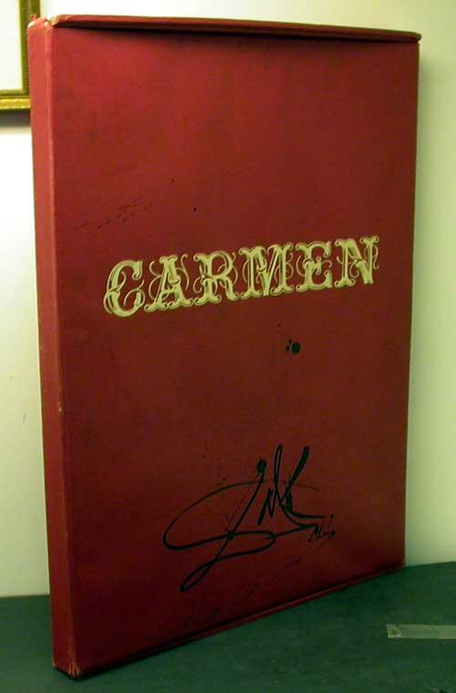 Salvador Dali - Carmen - Portfolio Cover