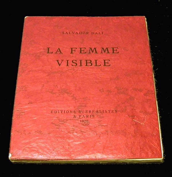 Salvador Dali - La Femme Visible - Cover